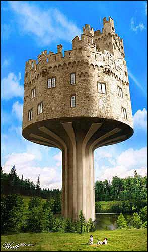 世界七大奇特建筑